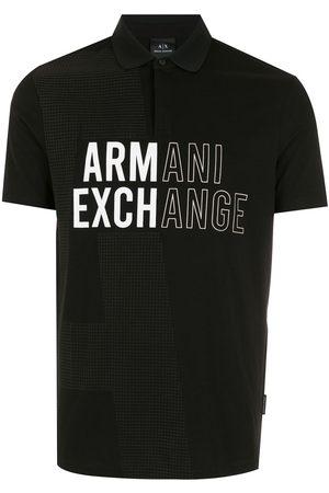 Armani Men Polo Shirts - Logo short-sleeve polo shirt