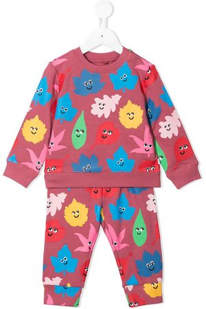Stella McCartney Tracksuits - Smiley Leaves print tracksuit - Multicolour
