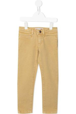 BONPOINT Girls Straight - Mid-rise straight-leg jeans