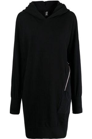 THOM KROM Women Casual Dresses - Zip-detail hooded jumper dress