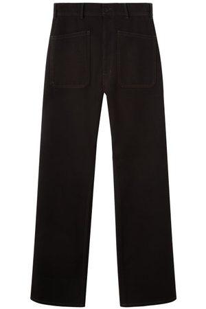LEMAIRE Patch-pocket High-rise Wide-leg Jeans - Mens