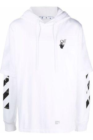 OFF-WHITE Men Hoodies - Caravaggio Arrows layered hoodie