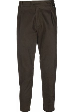 LOW BRAND Slim-fit cropped trousers