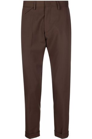 LOW BRAND Slim-fit tailored trousers