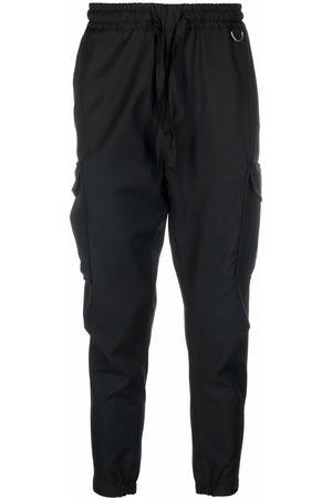 LOW BRAND Men Cargo Pants - Drawstring cargo wool trousers