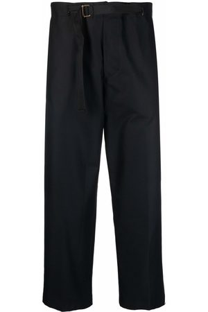 COSTUMEIN Belted wide-leg cropped trousers