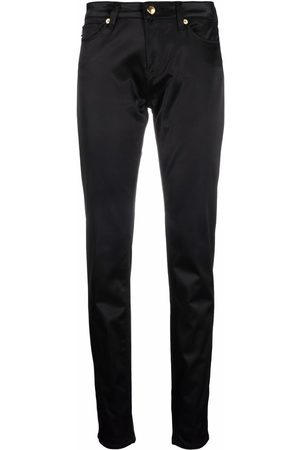 Love Moschino Low-rise slim fit trousers