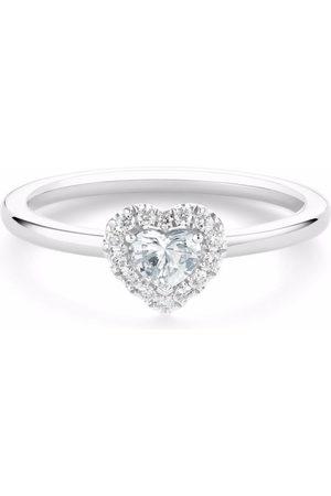 De Beers Women Rings - Platinum Aura heart-shaped diamond ring