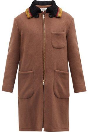 Sasquatchfabrix. 50-21 Pharaoh Wool-blend Overcoat - Mens