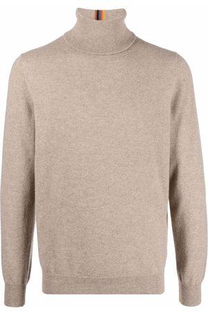 Paul Smith Roll-neck cashmere jumper - Neutrals
