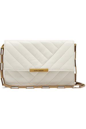 Isabel Marant Women Purses - Devony Quilted-leather Shoulder Bag - Womens - Ivory