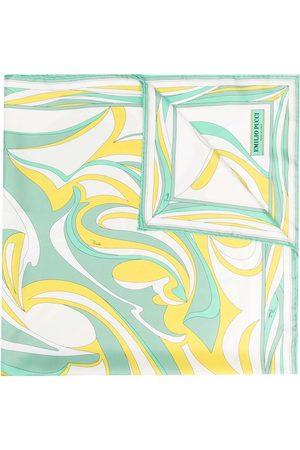 Emilio Pucci Nuages-print silk scarf