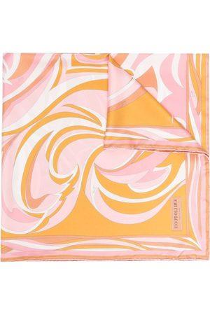 Emilio Pucci Nuages-print silk square scarf