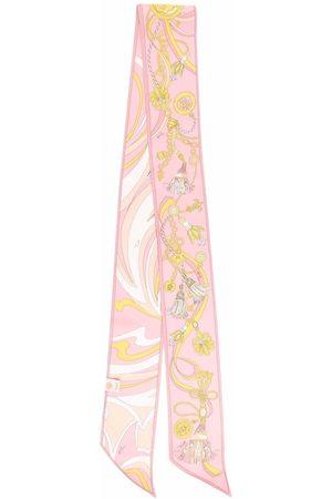 Emilio Pucci Nappine-print silk scarf