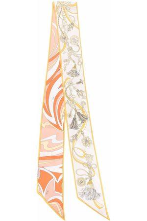 Emilio Pucci Nappine Nuages-print silk stole