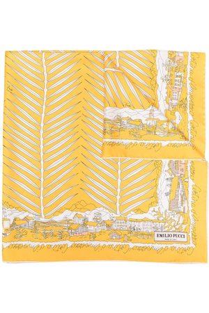 Emilio Pucci Cortina D'Ampezzo-print scarf