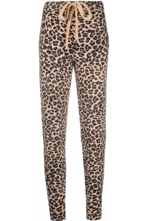 LANEUS Leopard print joggers