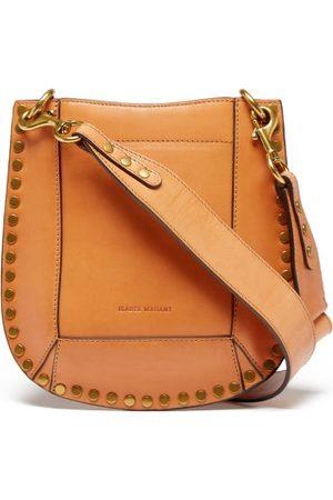 Isabel Marant Nasko Studded-leather Shoulder Bag - Womens - Tan