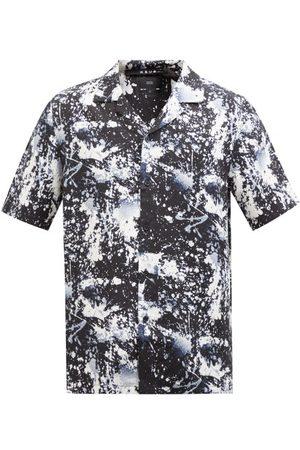 KSUBI Splash Back Short-sleeved Printed Tencel Shirt - Mens