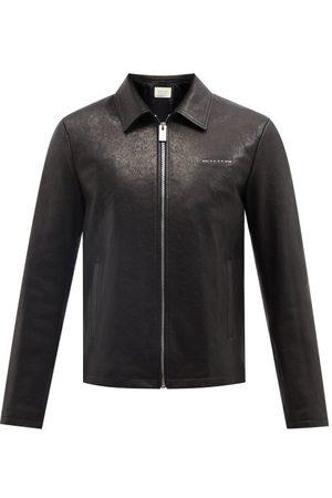 1017 ALYX 9SM Leone Logo-appliqué Padded-leather Jacket - Mens