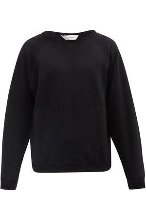 Sasquatchfabrix. Talisman High-neck Striped Cotton Sweatshirt - Mens