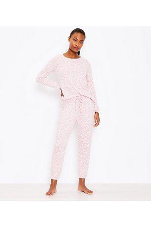LOFT Women Pajamas - Leopard Print Pajama Set