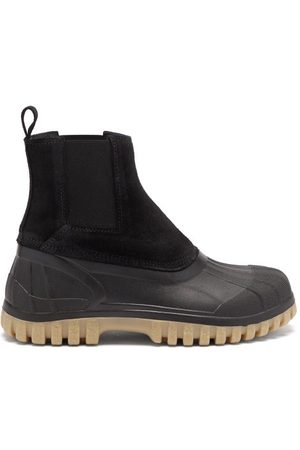 Diemme Balbi Suede And Rubber Chelsea Boots - Womens