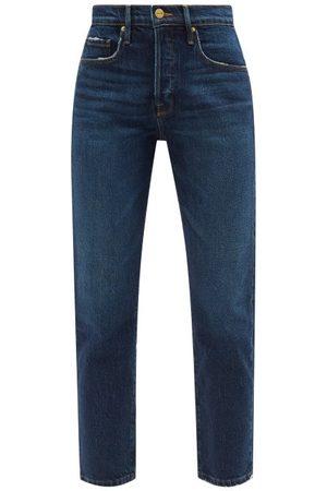 Frame Le Original Straight-leg Jeans - Womens - Dark Denim