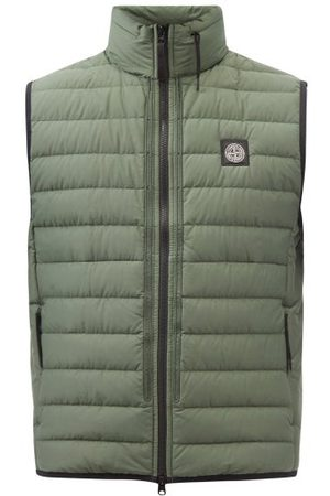 Stone Island Quilted-shell Down Gilet - Mens