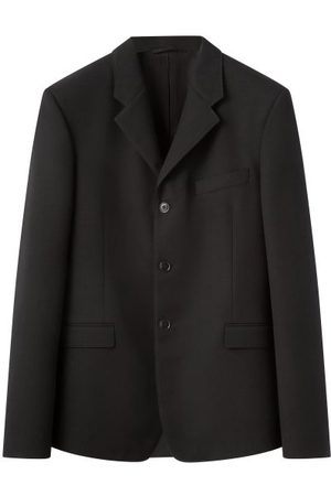 LEMAIRE Single-breasted Cavalry-twill Blazer - Mens