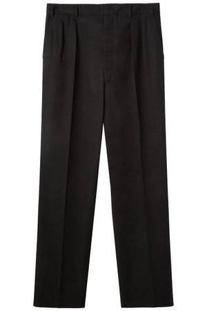 LEMAIRE Pleated Twill Trousers - Mens