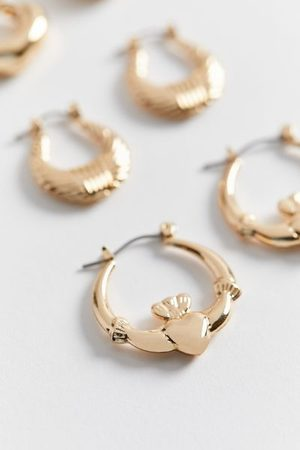 Urban Outfitters Jessica Small Hoop Earring Set