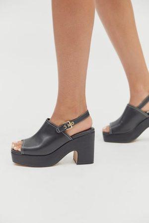 Urban Outfitters UO Elle Slingback Platform Sandal