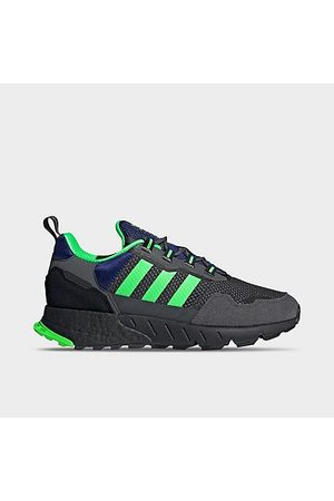 adidas Men Casual Shoes - Men's ZK 1K Boost Casual Shoes in Grey/Grey Size 8.0
