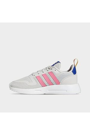 adidas Girls' Little Kids' Originals Multix Casual Shoes in Grey/Grey One Size 1.0