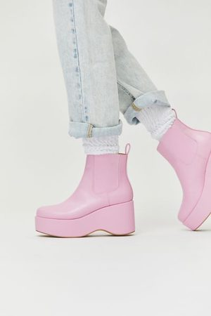 Urban Outfitters UO Gina Platform Chelsea Boot
