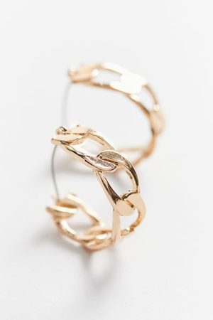Urban Outfitters Curb Chain Hoop Earring