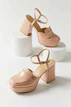 Urban Outfitters UO Veronica Solid Platform Heel
