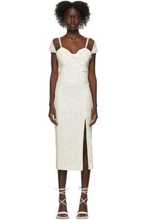 Jacquemus Linen & Viscose Tovallo Dress