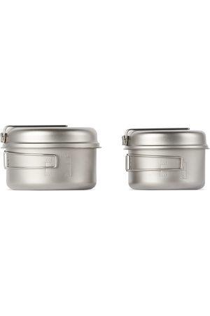 Snow Peak Silver Multi Compact Cookware Set