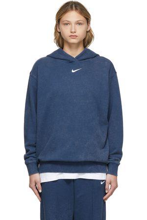 Nike Navy Wash Hoodie