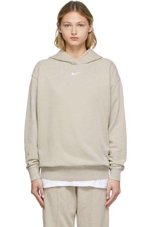 Nike Beige Wash Hoodie