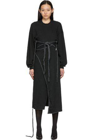 OTTOLINGER Cotton Wrap Crewneck Dress