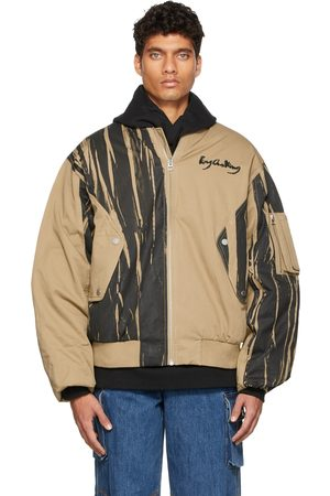 Feng Chen Wang Hand Painted Padded Oversized MA-1 Jacket