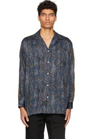 CLOT Multicolor Graphic Open Collar Shirt