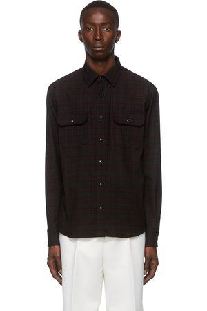 Ermenegildo Zegna Wool & Cotton Check Shirt