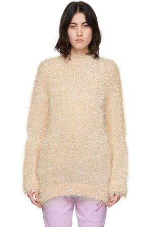 Stella McCartney Knit Tinsel Opalescent Crewneck Sweater