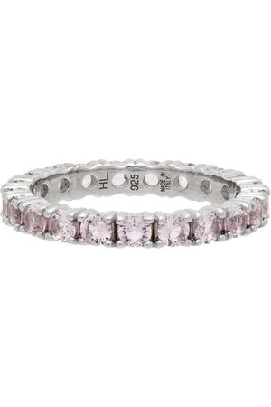 Hatton Labs SSENSE Exclusive Silver & Tennis Eternity Ring