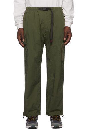 Gramicci Men Pants - Khaki Nylon Packable Truck Trousers
