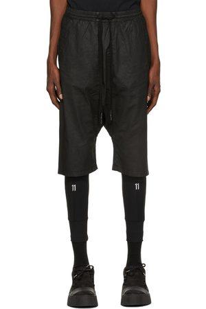 11 BY BORIS BIDJAN SABERI Coated P30 Shorts
